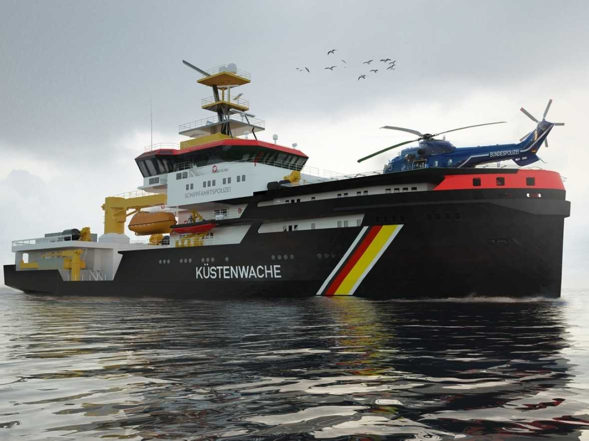 Rolls-Royce gas protected engines for Germany's new multi-purpose vessels