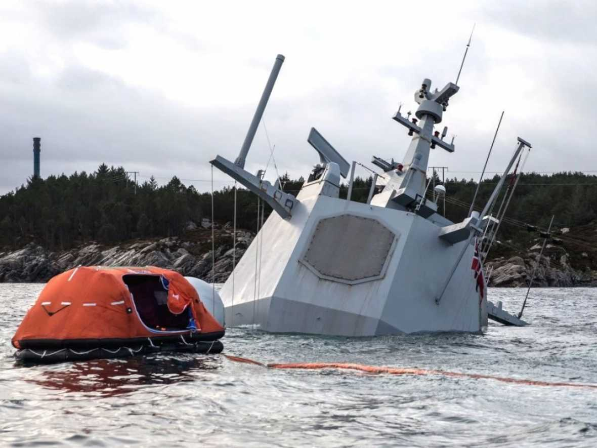 Many failings highlighted in preliminary report on Norwegian frigate collision
