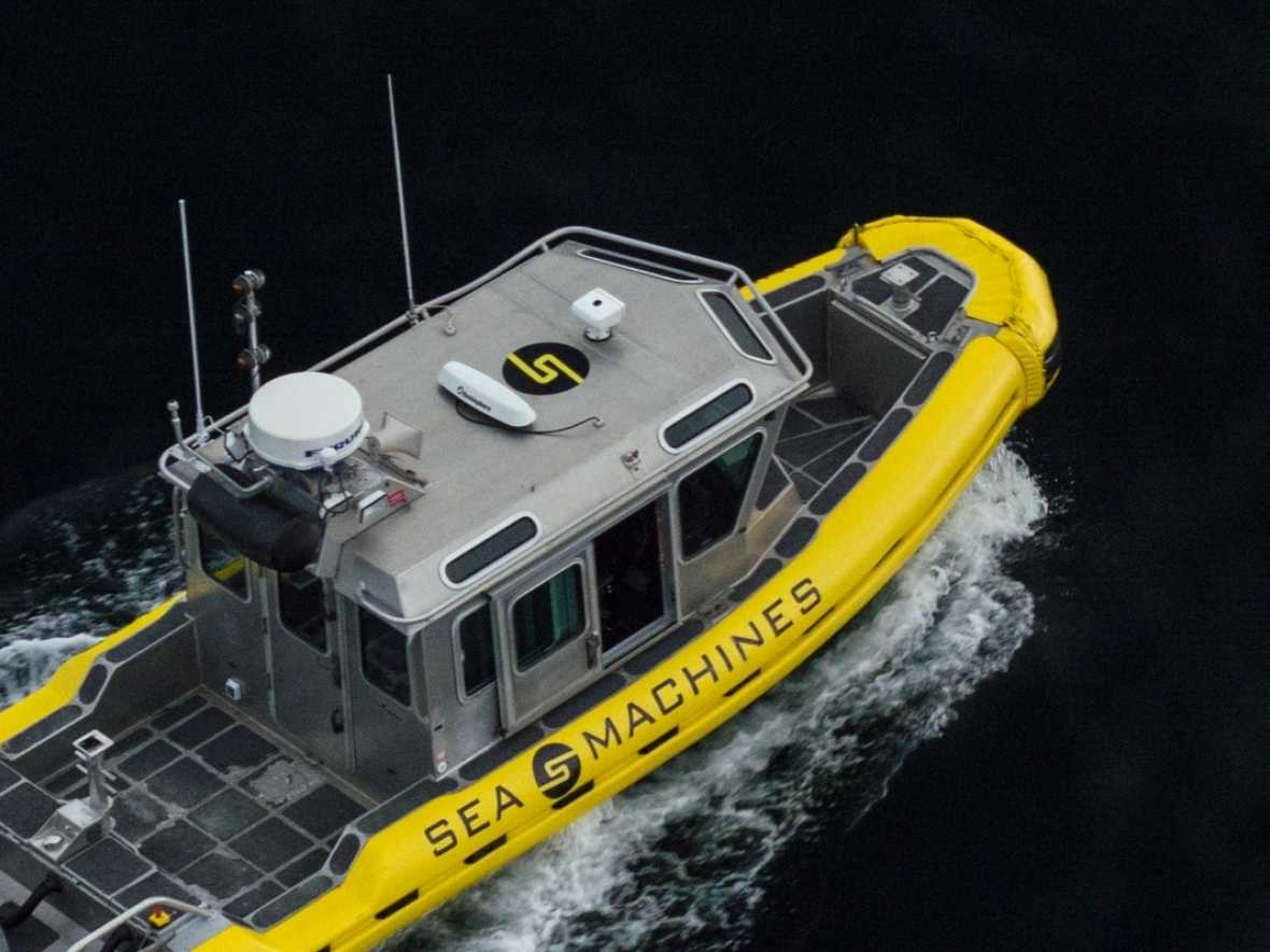 Sea Machines' autonomous project gets financial boost from naval ship builder