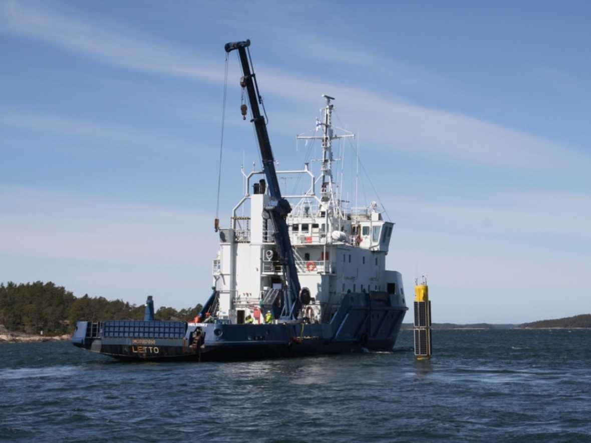 Sniffer buoys trial underway in Finland
