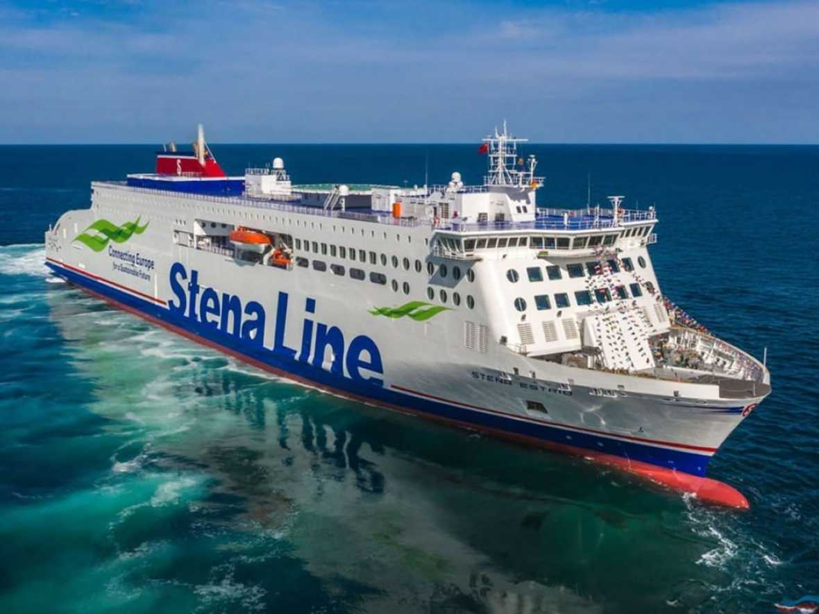 Stena takes delivery of Stena Estrid as first E-Flexer