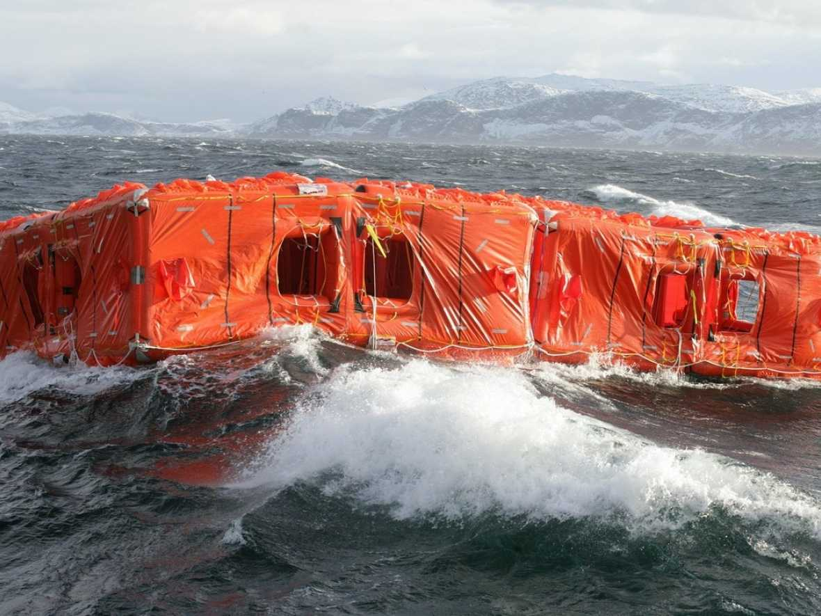 Survitec scores a century with Stena Lines' MES order
