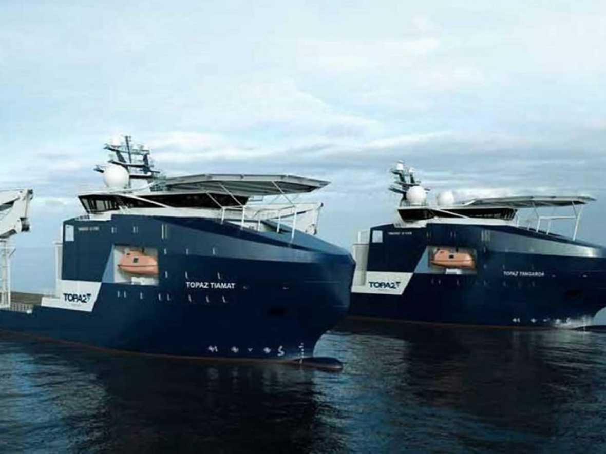 Topaz PSV joins ABS extended dry-dock programme