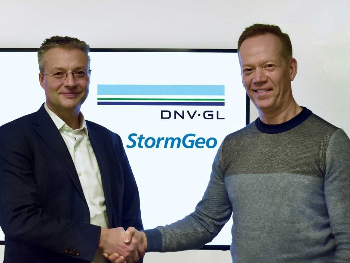 Digitalisation StormGeo and DNV GL sign MoU to accelerate maritime data sharing
