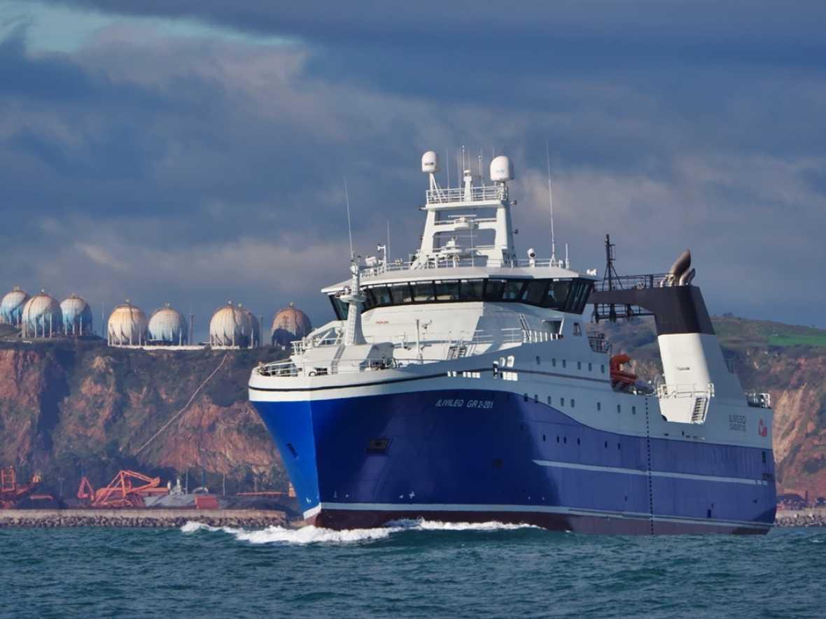 Latest Kongsberg Maritime designed Arctic trawler delivered