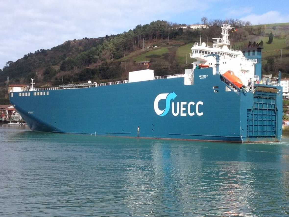 Car carrier in biofuels testing project