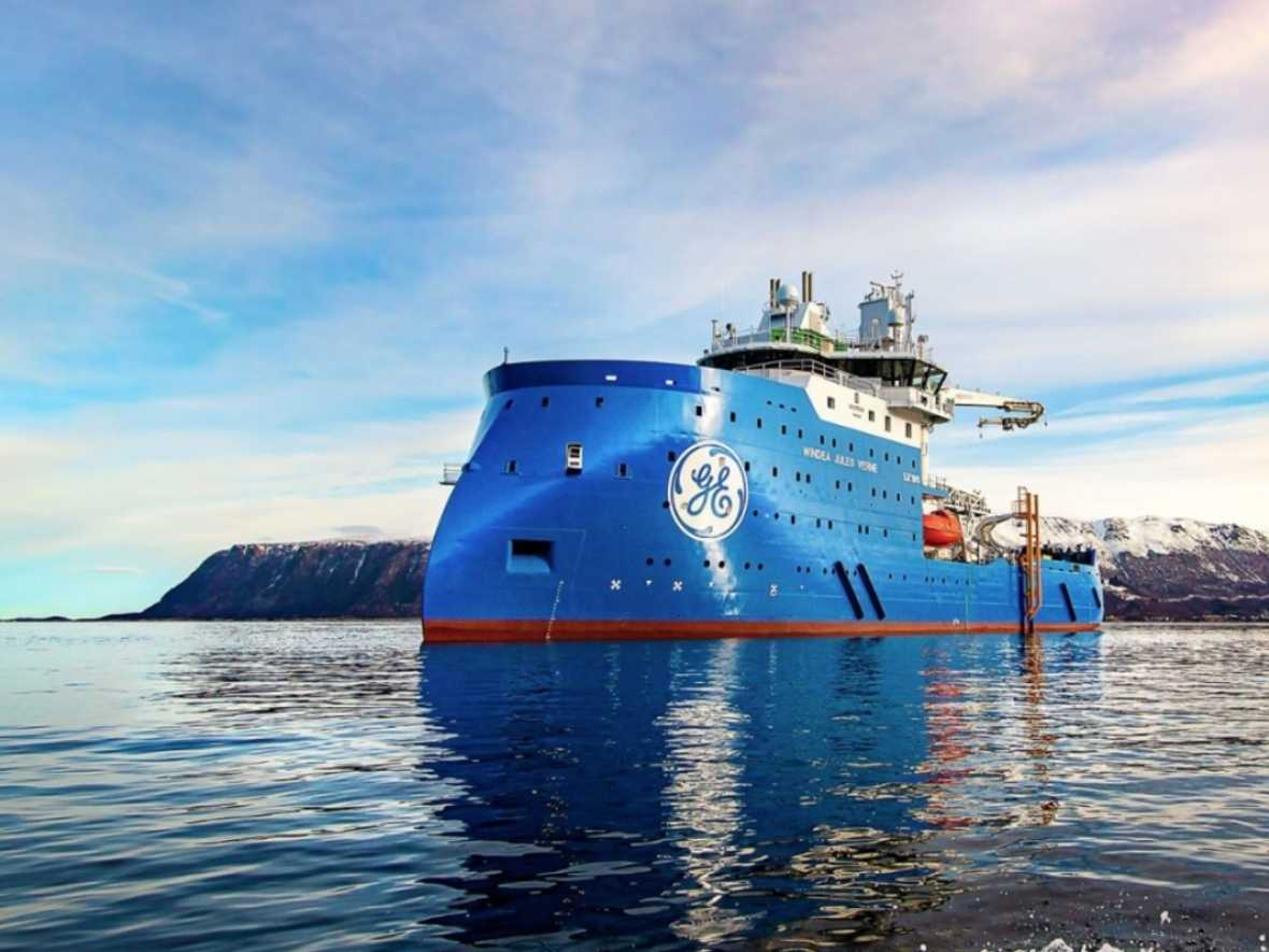 Ulstein hands over next generation hybrid offshore wind vessel