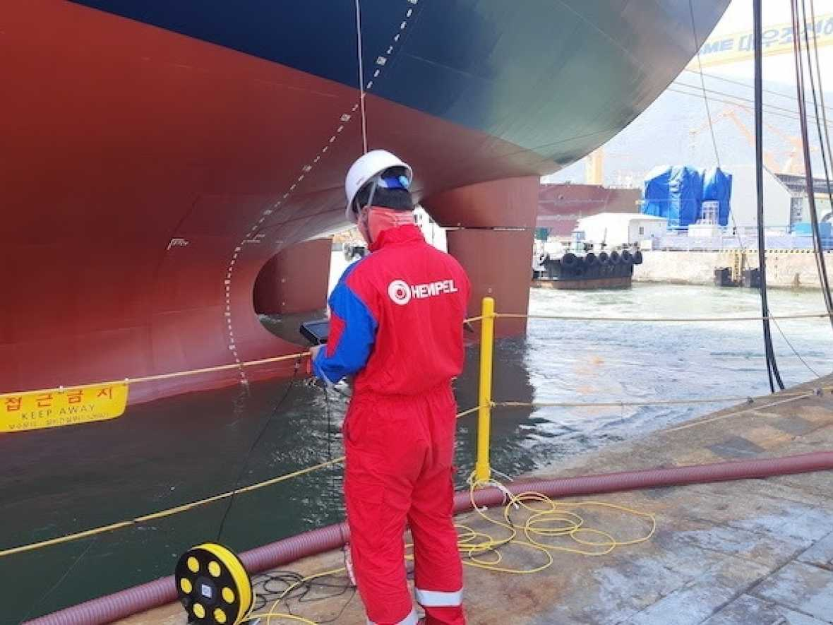 Hempel launches hull inspections by ROV