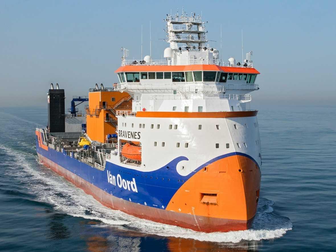 Van Oord gets Green Loan for new vessels