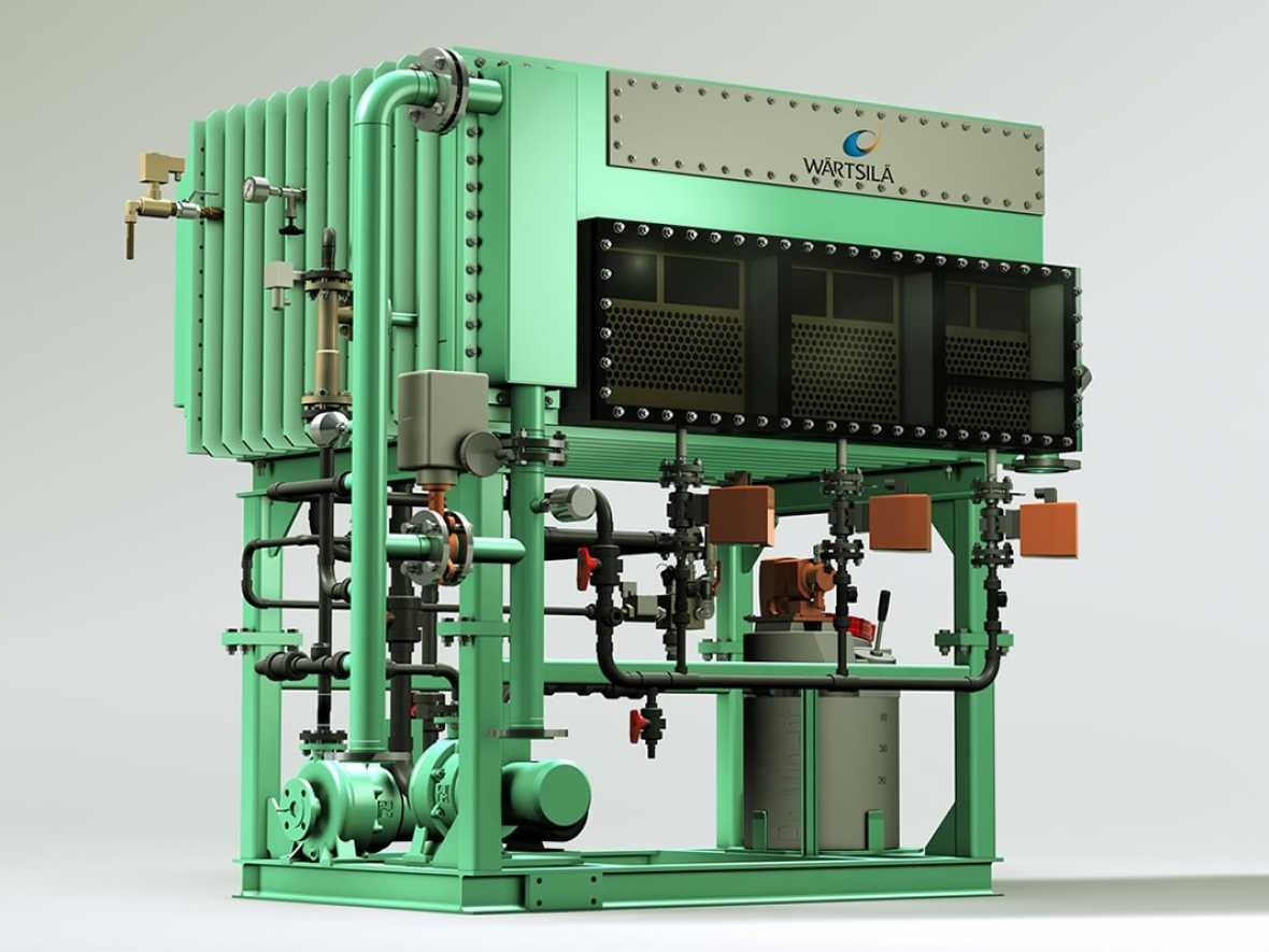 Wärtsilä fresh water generator shown to save fuel