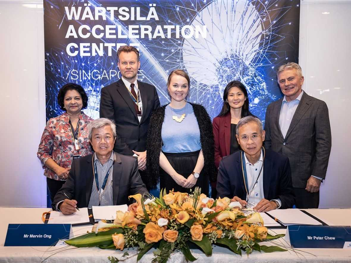 Wärtsilä and PSA Marine collaborate on smart green shipping