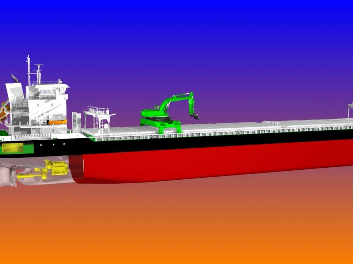 Wärtsilä wins hybrid bulker deal