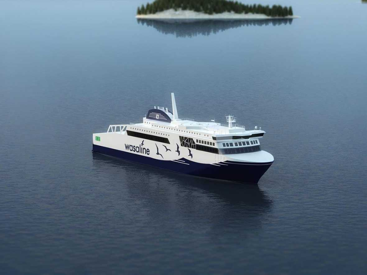 Super-efficient Wasaline ferry to get Wärtsilä Nacos Platinum navigation system