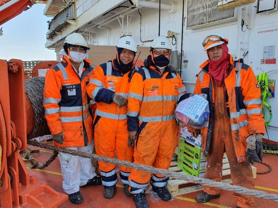 WSM supporting seafarers with crowdfunding appeal