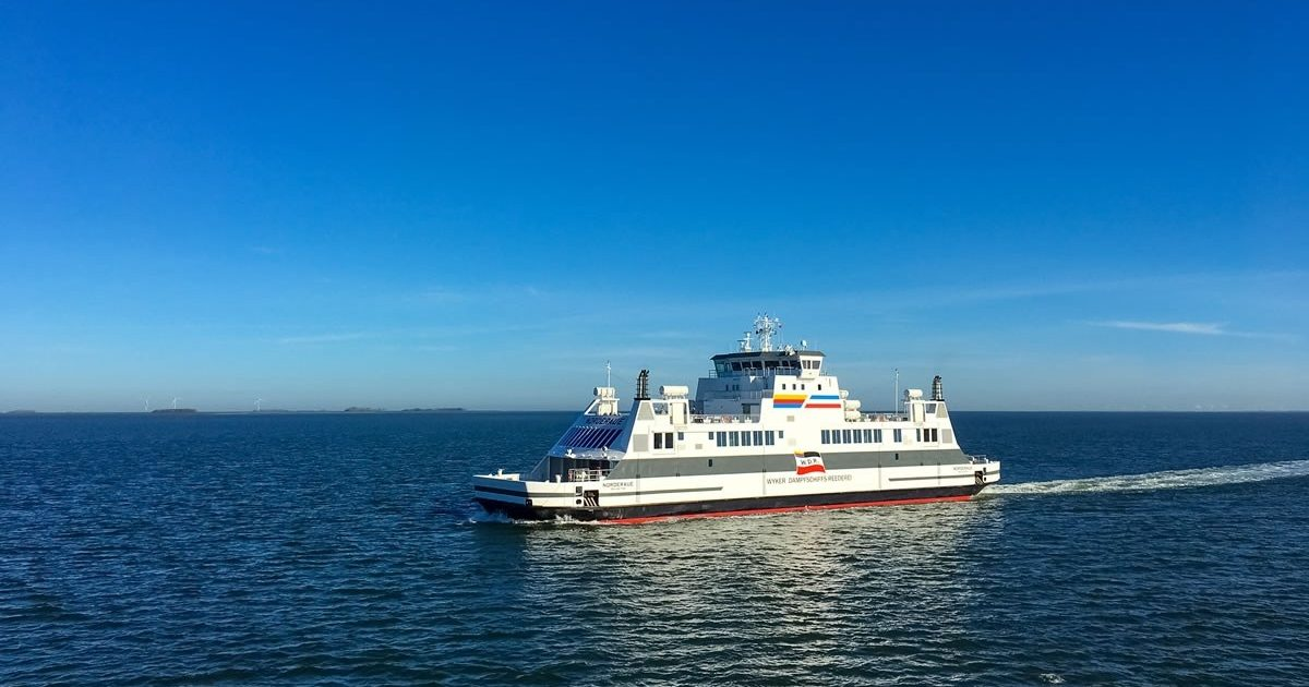 "Voith Schneider propellers make the new ""Norderaue"" ferry"