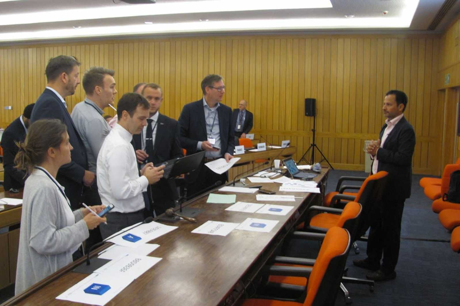 Blockchain exercise at IMO Workshop 14 10 19