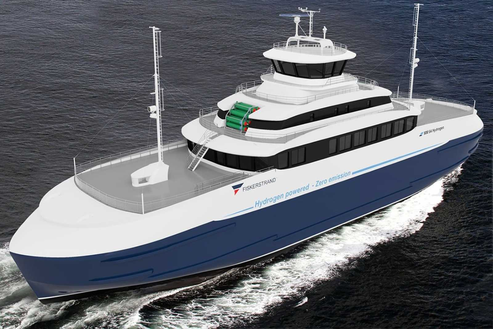 Concept-sketch-of-a-hydrogen-hybrid-ferry.-Image-credit-Fiskerstrand-Holding