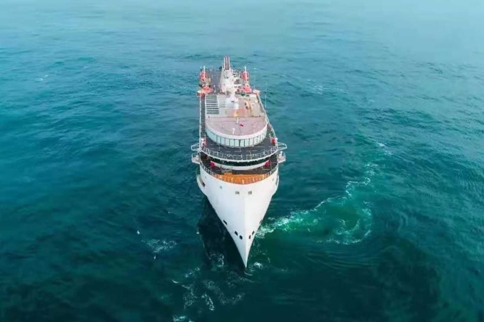 Greg Mortimer CX103 200 Pax Polar Expedition vessel Sea Trial