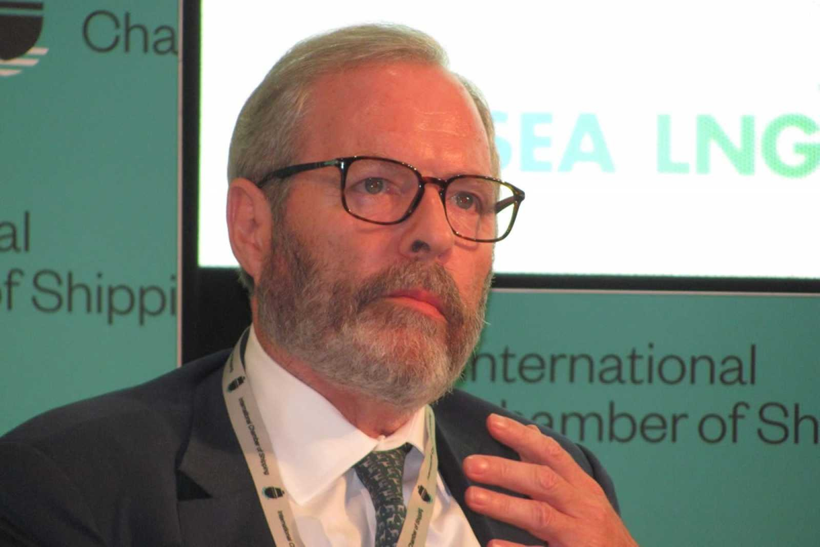 Michael Parker chair global shippg logistics offshore Citigroup ICS Conf Sept 2019 GPG Pic