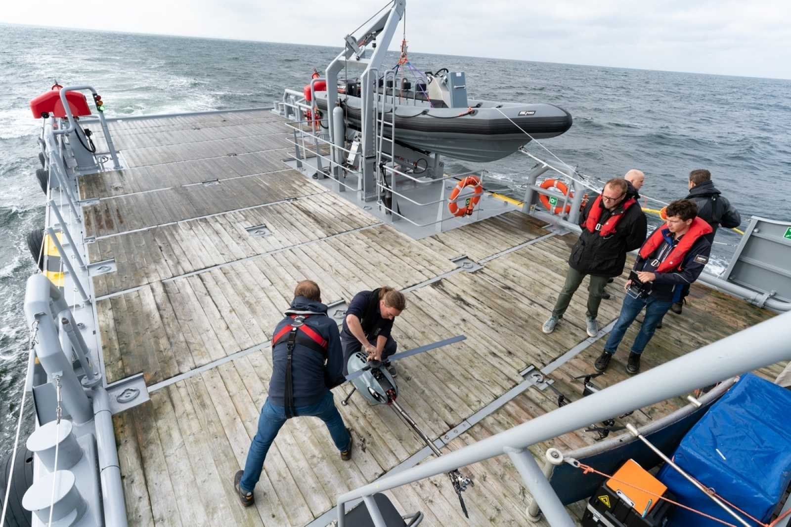 Qualification test in North Sea 1