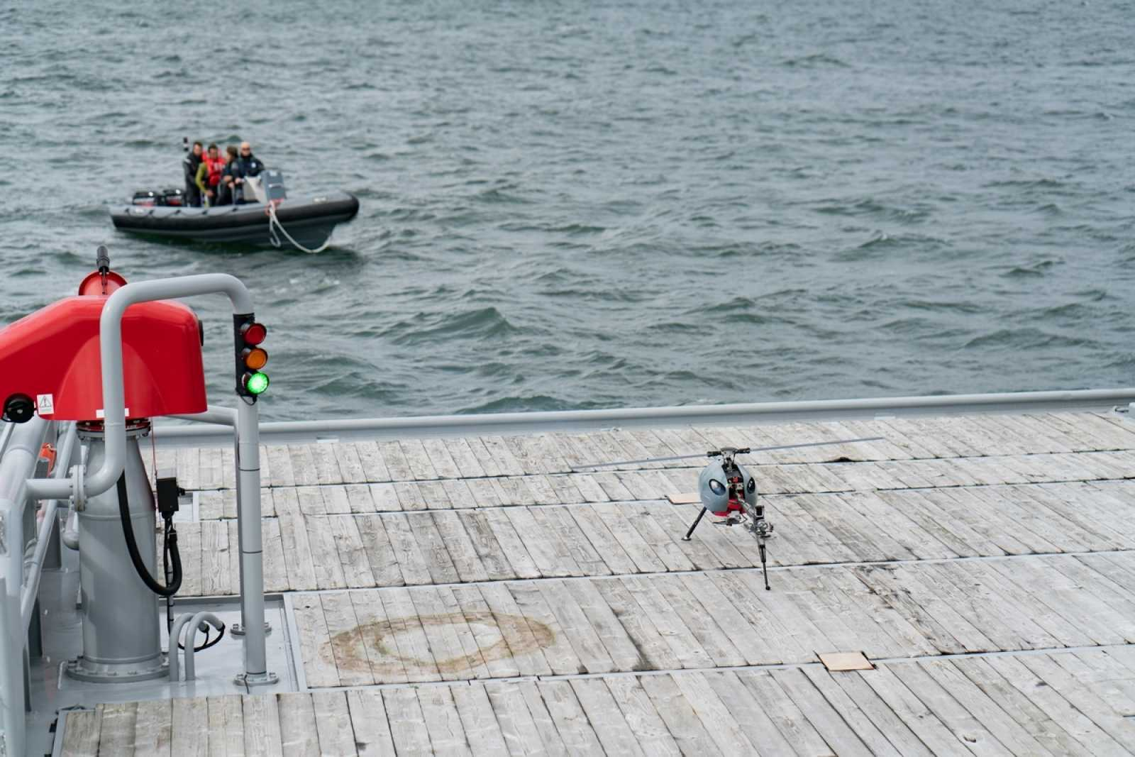 Qualification test in North Sea 4