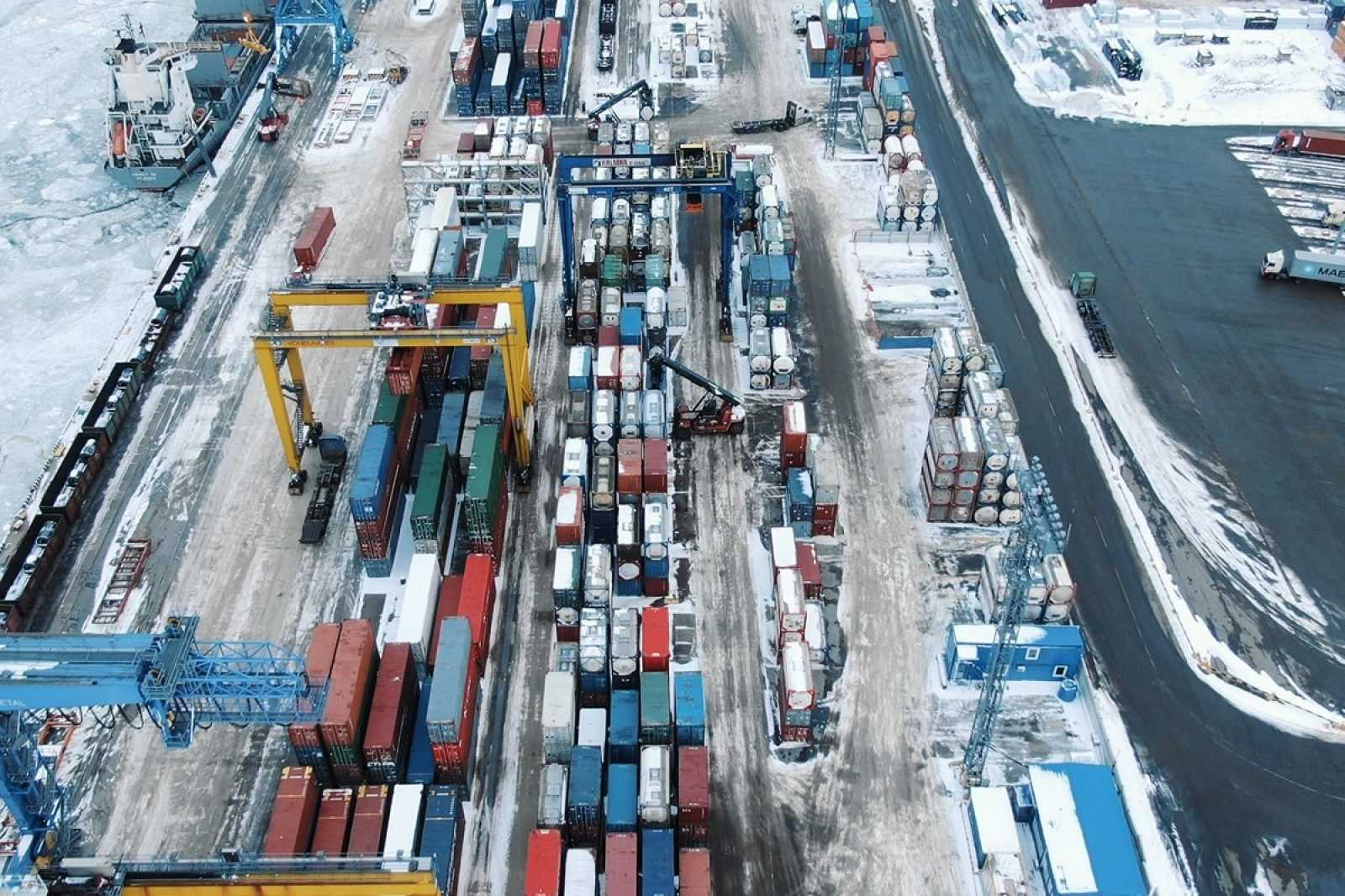 Containers port 75navqaer