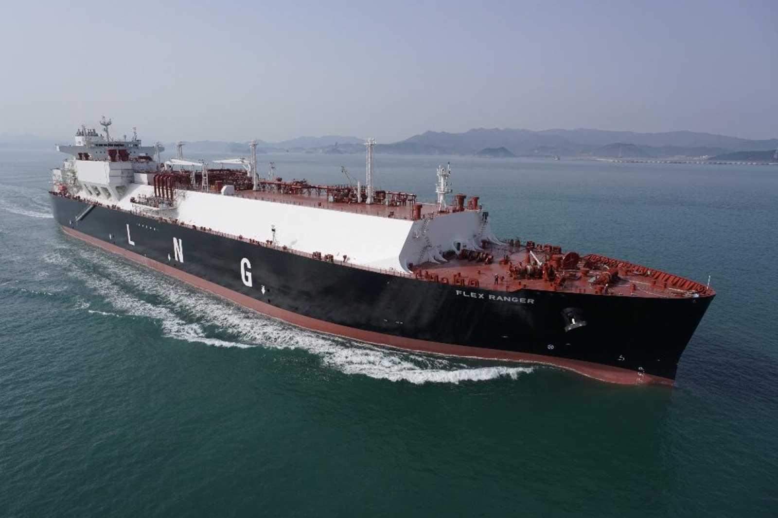 Flex lng to take delivery of its third megi vessel