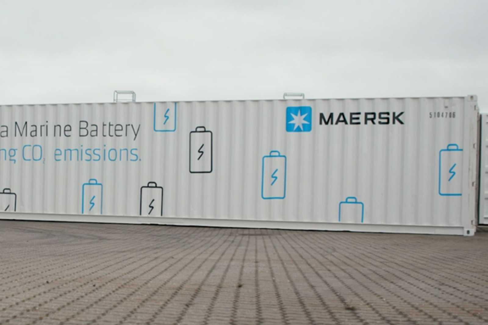 Maersk battery