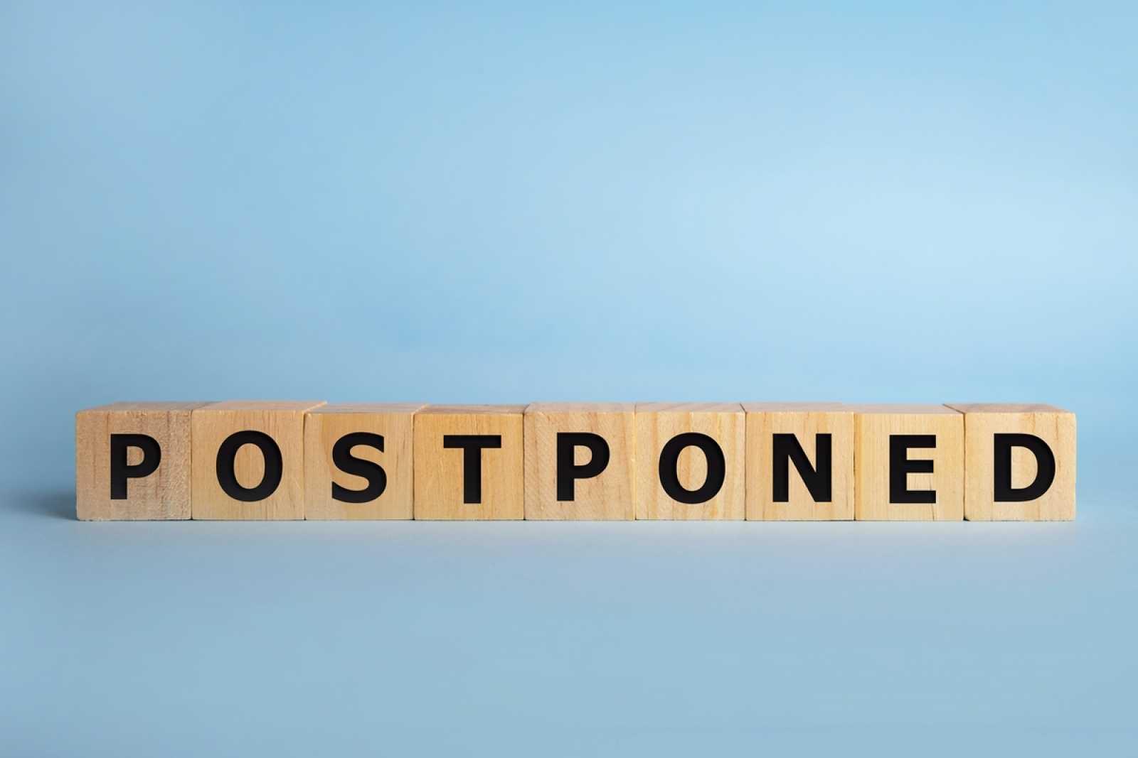 Postponed imo