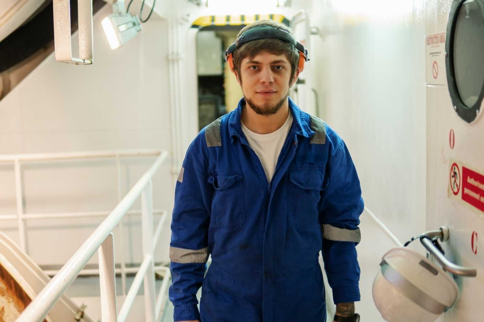 Ship worker
