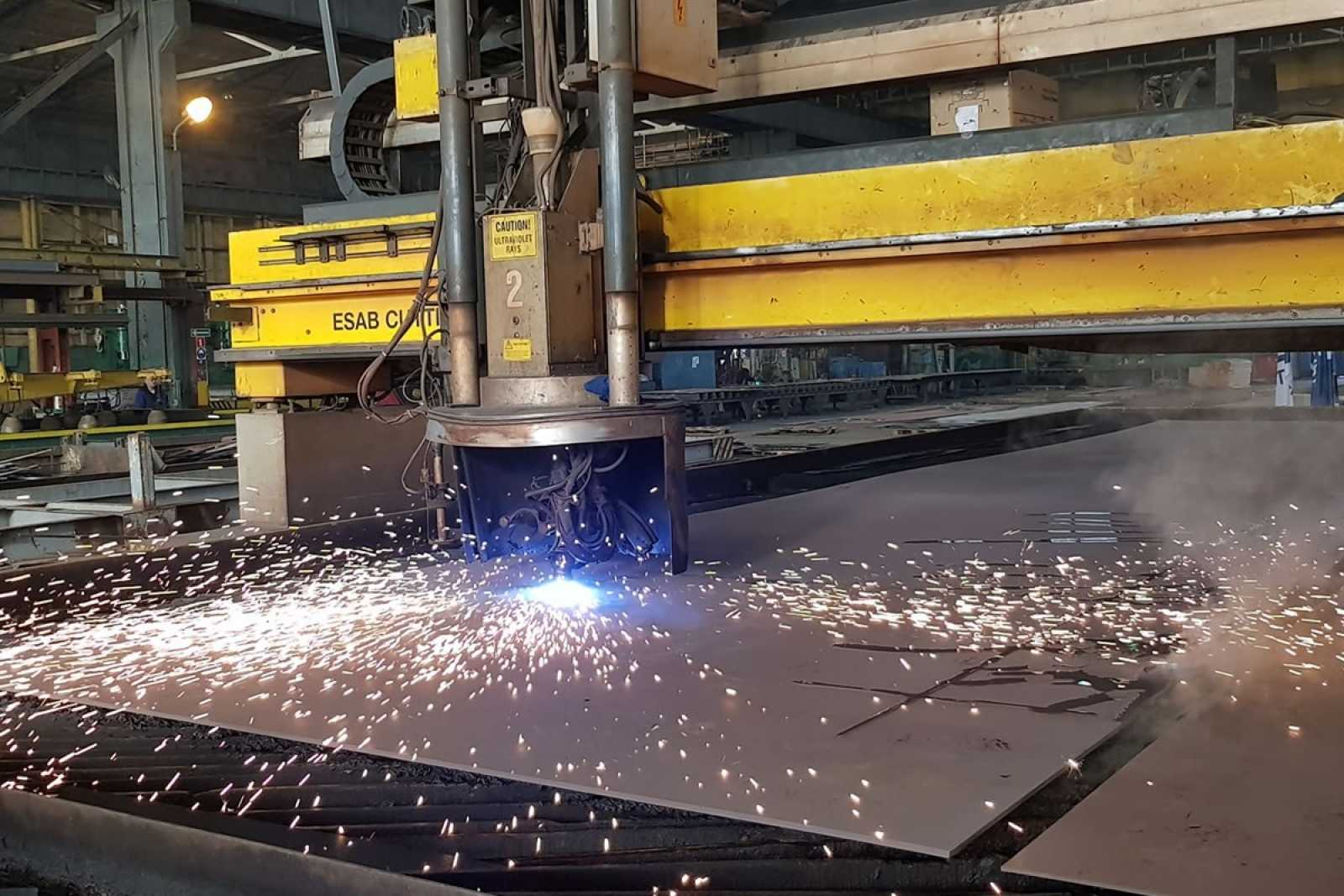 Stell cutting