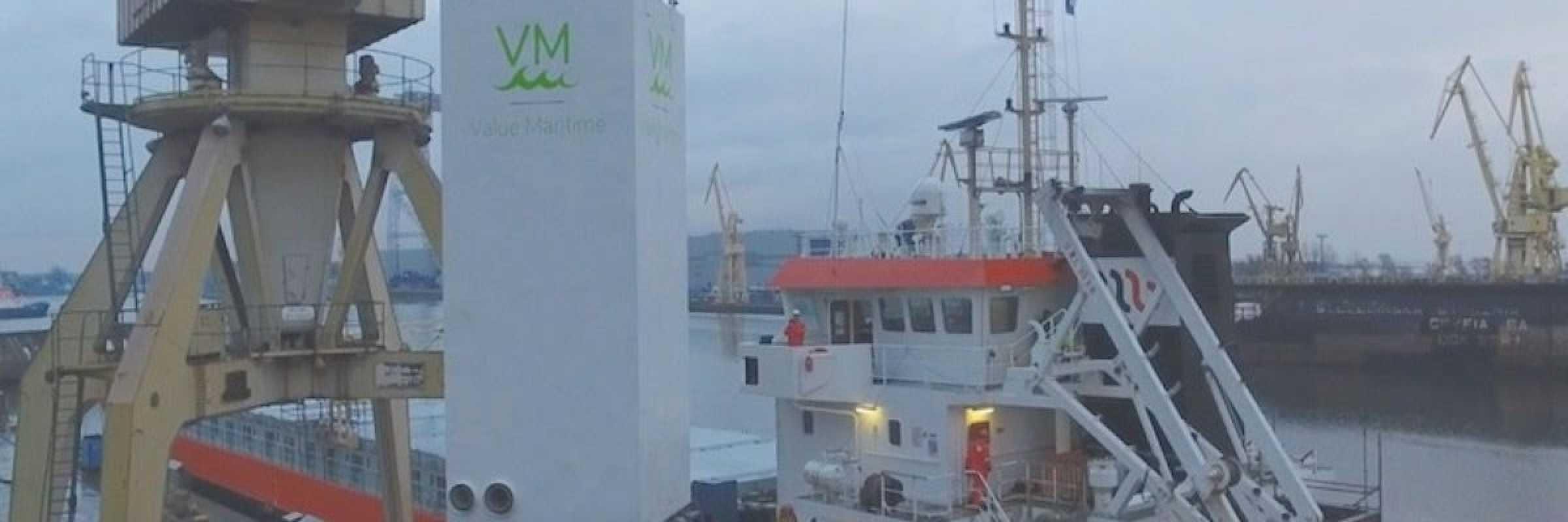 Value Maritime modular scrubber gets LR nod
