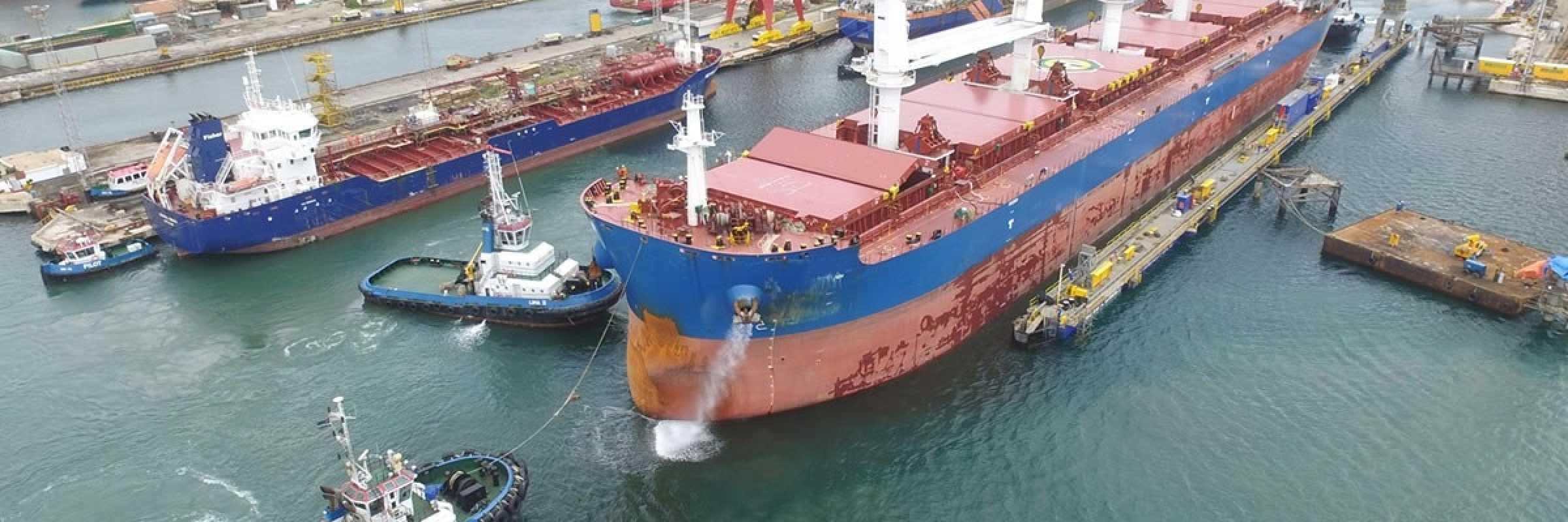 Damen adds new drydock capacity in Caribbean