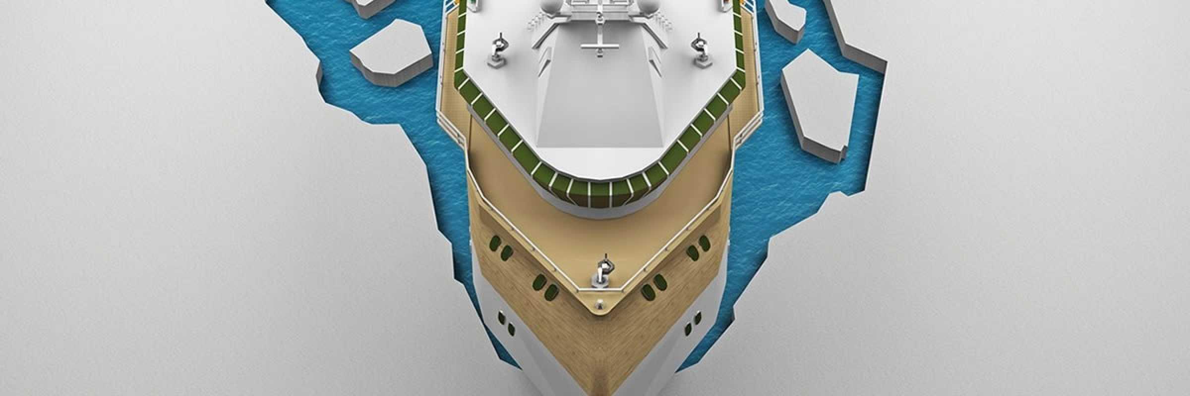 Danfoss provides power for removeable icebreaking bow