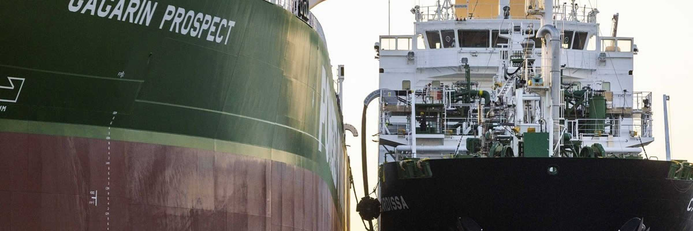 Shell and Sovcomflot chalk up LNG firsts in Rotterdam