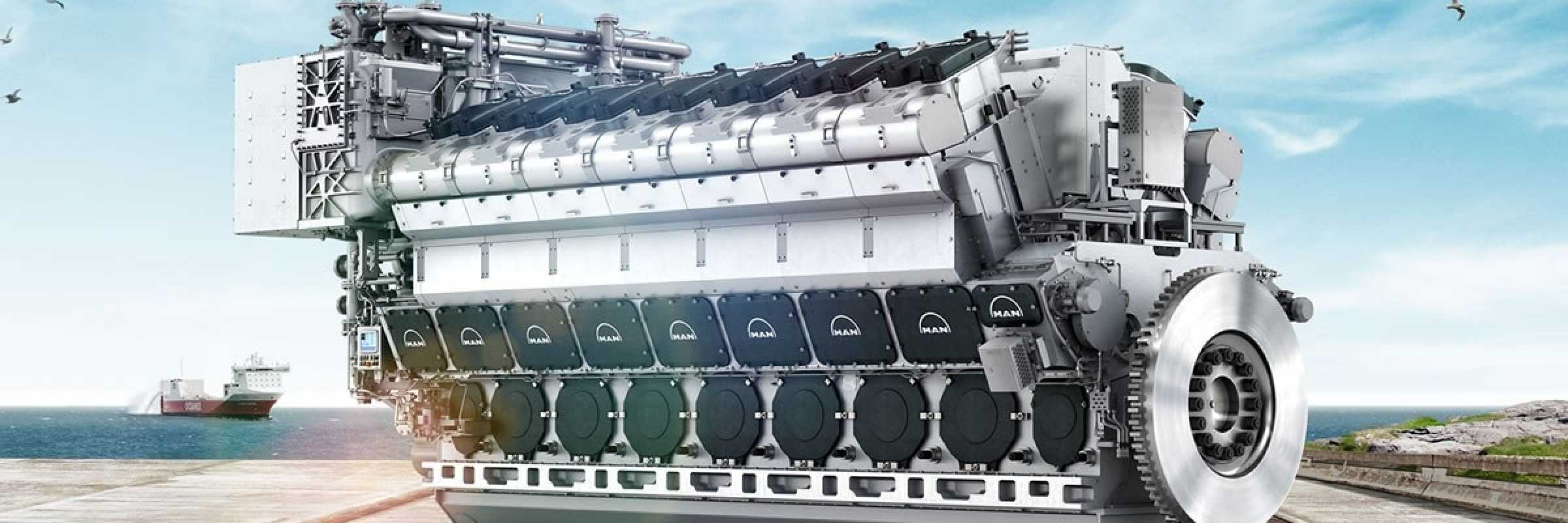 Ships diesel engines - A brief history