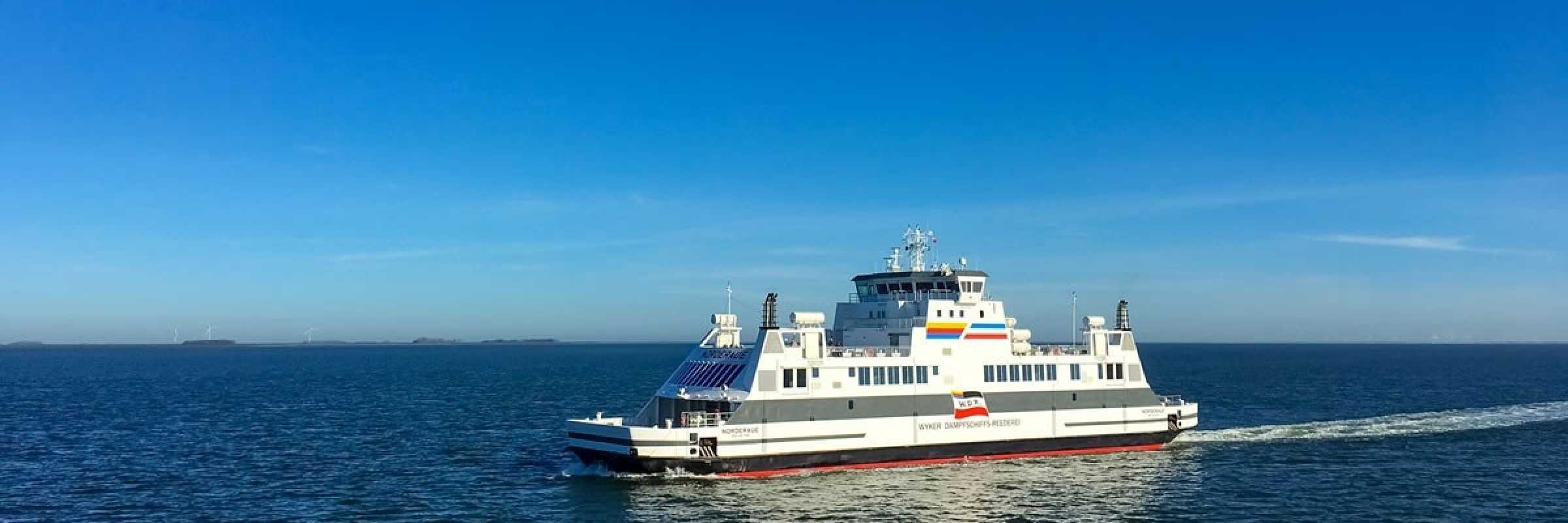 "Voith Schneider propellers make the new ""Norderaue"" ferry efficient and environmentally friendly"