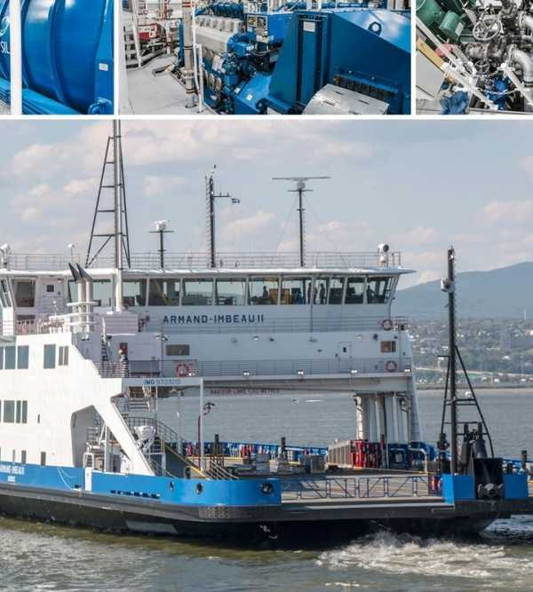 Davie becomes the first North American shipyard to build LNG-powered ferry