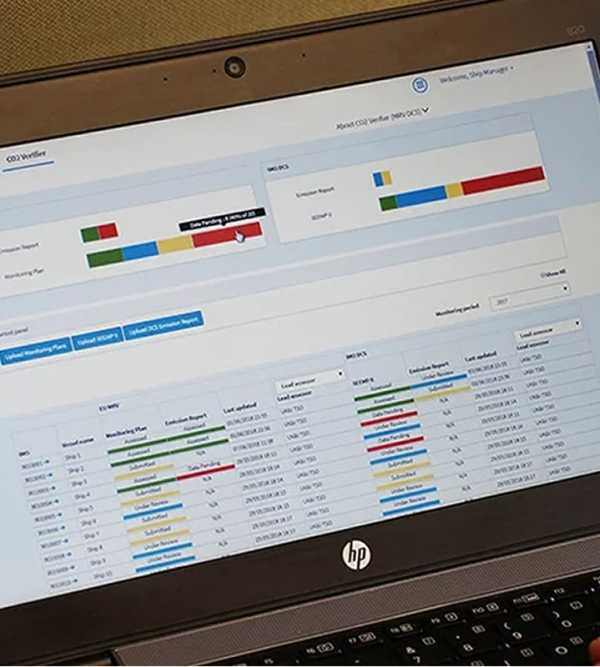 New one stop compliance solution for EU MRV and IMO DCS regulations.