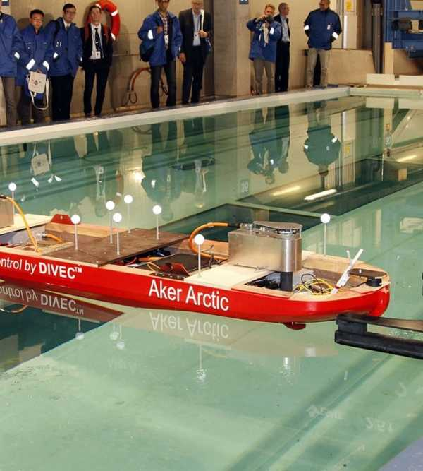 Aker Arctic demonstrates autonomous vessel in model test