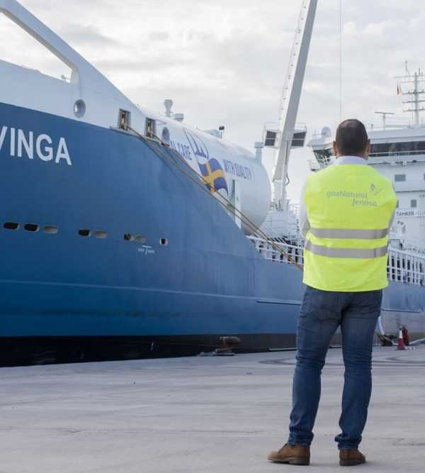 Skangas fuels the tanker Fure Vinga with liquefied biogas