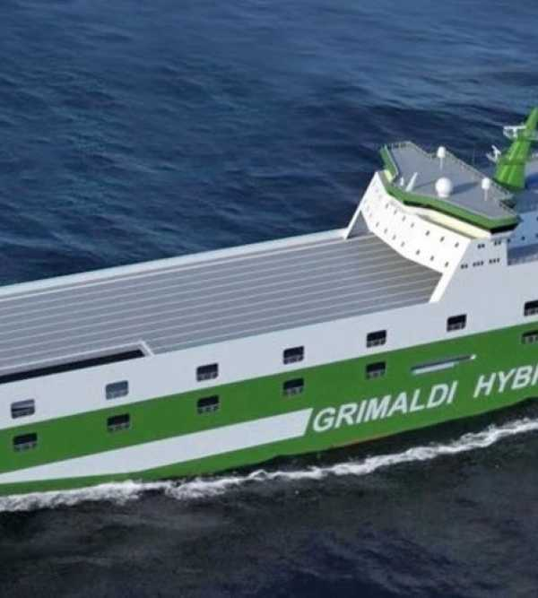 New generation of RoRo's designed by Knud E Hansenfor Grimaldi