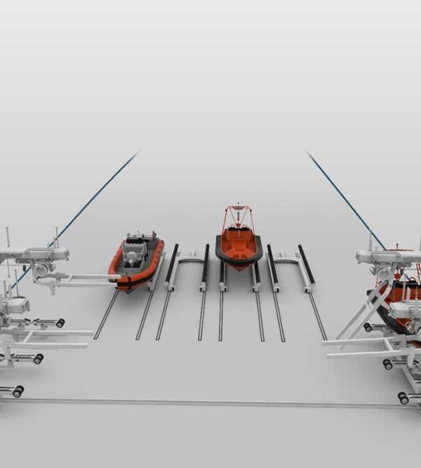 Vestdavit multi-boat handling system secures US patent